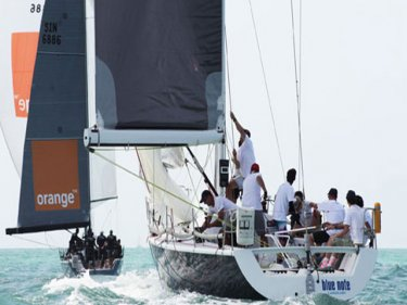 Foxy Lady VI lead from start to finish to win the IRC Racing I title