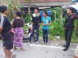 Three Phuket Robbers Hold Up Burmese at Knifepoint, Flee on Motorcycle