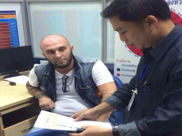 Russian Tengiz Andguladze, 29, is arrested for operating an illegal tour shop