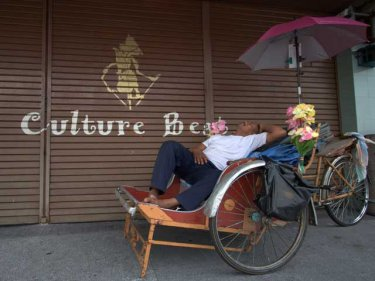 Penang's culture is now more laid back than Phuket's, without sunbeds