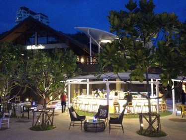 The new Karon Beach Square aims to rival Patong for nightlife
