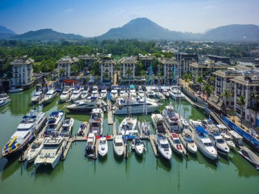 The Pimex boat show on Phuket earlier this month
