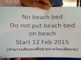 UPDATE BYO Beach Chairs Are OK, Phuket Police Will Be Told at Special Meeting