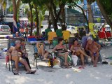 VIDEO UPDATE Phuket Navy, Police Ban All Beach Chairs from Holiday Island's Beaches