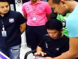 Phuket Flight Leads Credit Card Forgery Suspect to be Greeted by Police