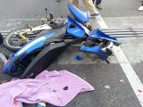UPDATE Phuket's Killer View: Car Stops on Bridge, Motorcycle Carrying Two Children Hits It