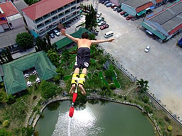 Promotional photo from Phuket's  World Bungee site online