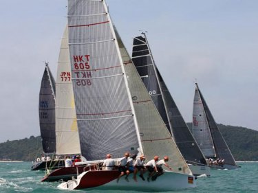 The Cape Panwa regatta captures the best time of the year to sail off Phuket