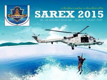 Phuket Sea Safety on Display at  SAREX2015