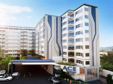 An artist's impression of how the Ace Condo project was intended to be