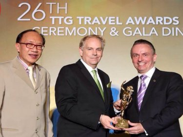 Amari Phuket  Wins Best Beach Resort in Asia Pacific 2015