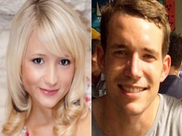 Victims of murder and rape: Hannah Witheridge and David Miller