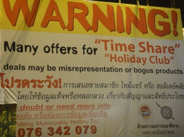 Time's Up: Patong Mayor Posts Warning on Touts