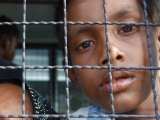 Rohingya Women and Children in Mass Escape from Phuket Refuge: Sleeping Boy Left Behind