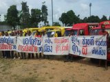 Phuket Tuk-Tuk Drivers Protest in Phuket City: Illegals Are Ripping Us Off