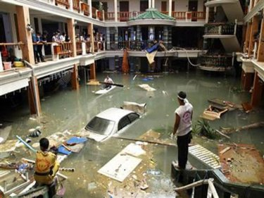 The Interior Of Sea Pearl In Patong After 2004 Tsunami