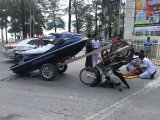 Jet-Ski Under Tow, Motorcycle Crash in Patong's Beach Road: Man Hurt