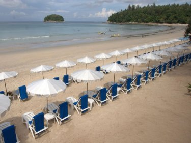 The way it was once on Kata beach, when Phuket was less popular